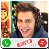 Fake Call elrubiusOMG icon