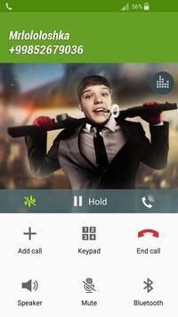 Fake Call mrlololoshka apk screenshot