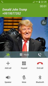 Fake call Putin and Trump apk screenshot