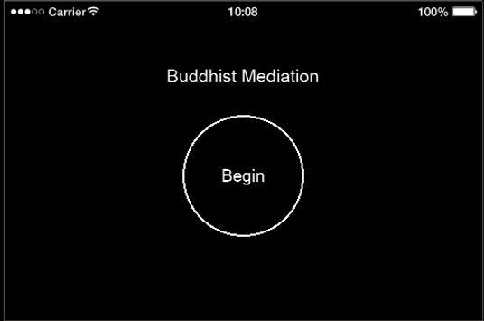 Buddhist Meditation poster