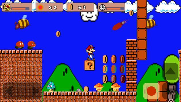 Classic Mario World 2 poster
