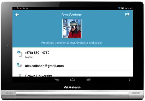 Brewster Address Book apk screenshot