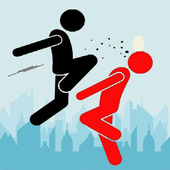Stickman Urban Fighter icon