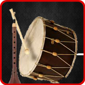 Drums and flutes of Ramadan icon