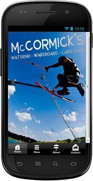 McCormicks Cable Park Tampa poster