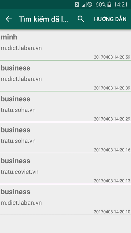 Từ điển Anh Việt Việt Anh Cho Android Tải Về Apk