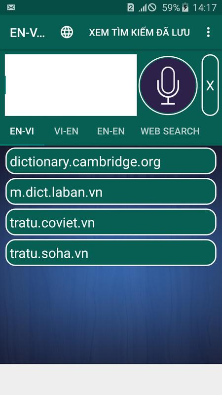 Từ điển Anh Việt Việt Anh For Android Apk Download