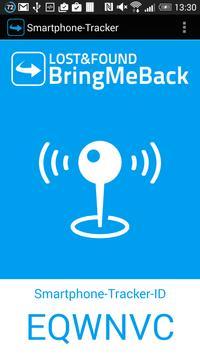BringMeBack Smartphone Tracker poster
