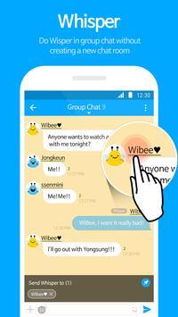 WiBee Talk imagem de tela 2