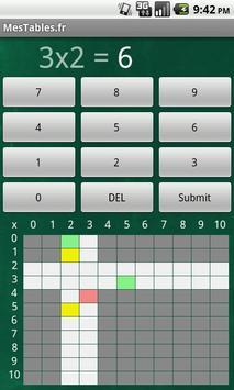 Mes Tables screenshot 1