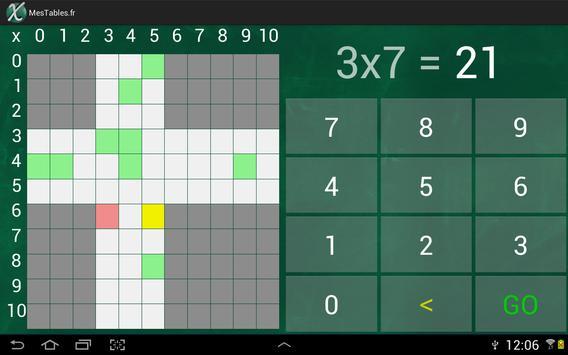 Mes Tables screenshot 3