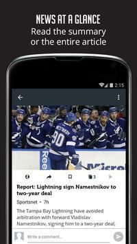 Sportfusion - NHL News Edition screenshot 3