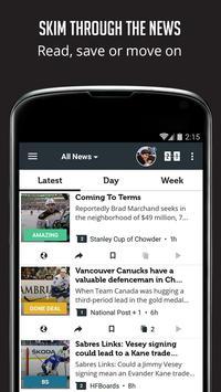 Sportfusion - NHL News Edition screenshot 2