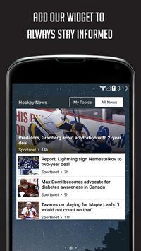 Sportfusion - NHL News Edition screenshot 5
