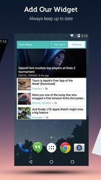 Tech News & Reviews - VR, Drones, Startups & More apk screenshot