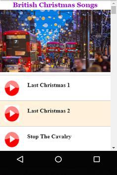 british christmas songs poster - British Christmas Songs