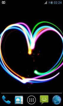 Magic Ripple : Glow Heart poster