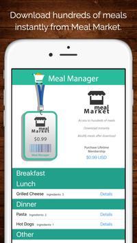 Meal Manager apk screenshot