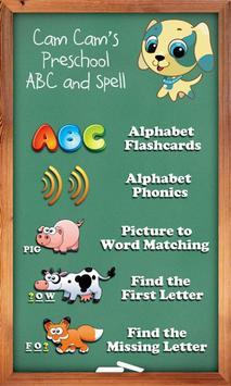 Cam Cam's Preschool ABC Free screenshot 3