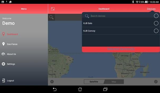 iTrailLive apk screenshot