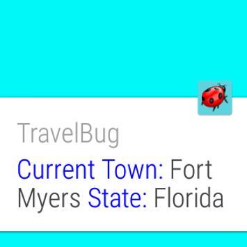 TravelBug apk screenshot