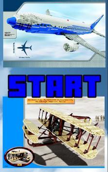Brick Aircraft instructions poster