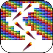 Brick breaker swipe icon