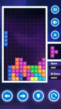 Brick Tetris Classic - Block Brick Puzzle Game screenshot 1