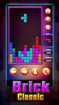 Brick Classic Puzzle of tetris screenshot 4