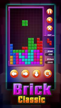 Brick Classic Puzzle of tetris screenshot 2