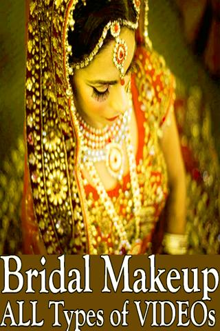 Bridal Makeup Dulhan Wedding Tutorial VIDEOs for Android