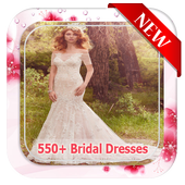550+ Bridal Dresses Ideas icon