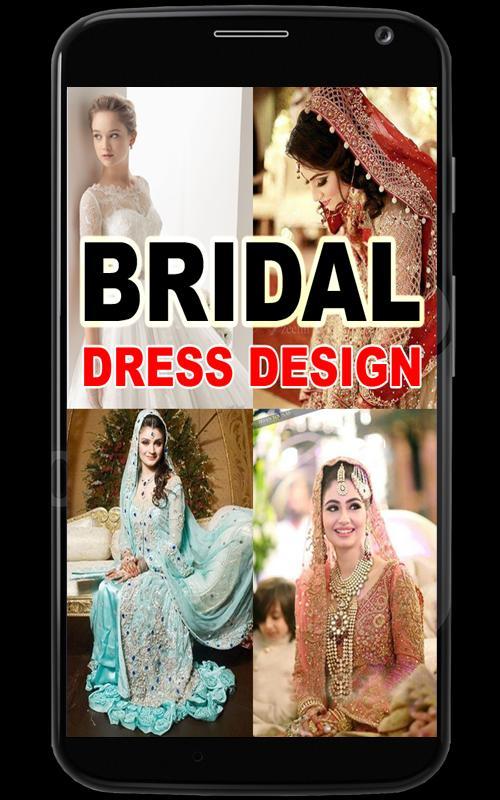 Bridal Wedding Dresses Design poster