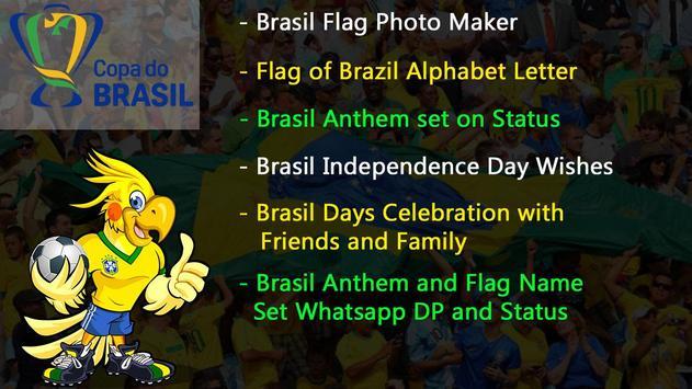 Brazil Independence Day – Brazil Flag Letter Name screenshot 2