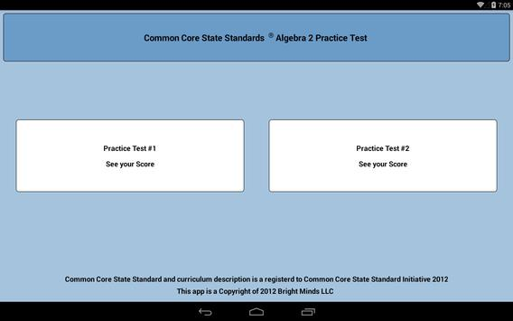 Common Core Algebra 2 screenshot 1