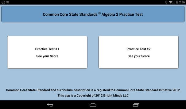 Common Core Algebra 2 screenshot 7