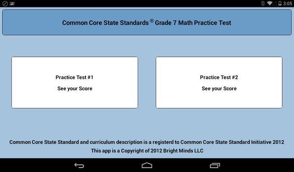 Common Core Grade 7 screenshot 7