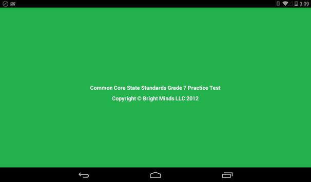 Common Core Grade 7 screenshot 6