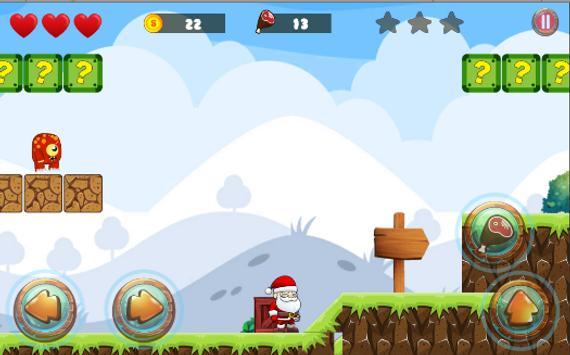 Santa Adventure: Christmas Game poster