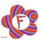 GRADIENT Color Font Text Maker icon
