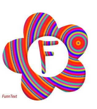 GRADIENT Color Font Text Maker poster