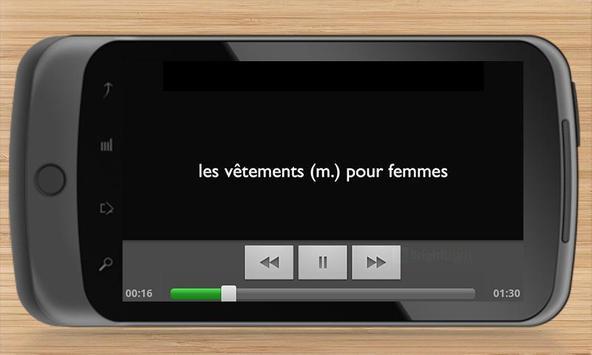 French Phrases Traveller screenshot 4