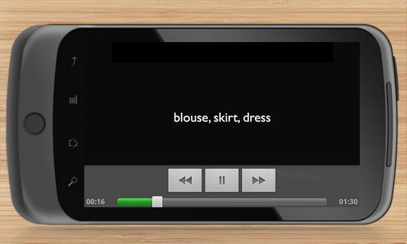 French Phrases Traveller screenshot 5