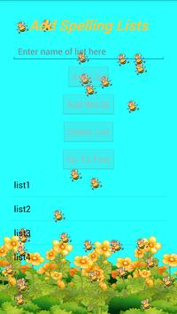 Busy Bee Spelling Test Lite poster