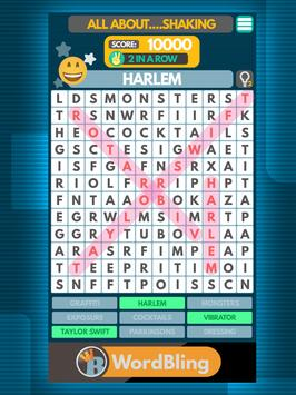 Word Search puzzle: Word Bling screenshot 7