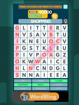 Word Search puzzle: Word Bling screenshot 5