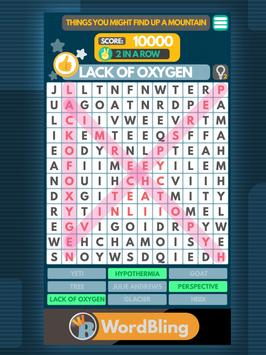 Word Search puzzle: Word Bling screenshot 8