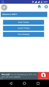 GSRTC Bus Booking  Gujarat ST screenshot 1