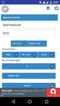 GSRTC Bus Booking  Gujarat ST screenshot 2
