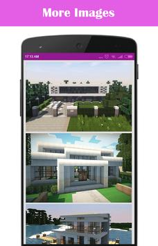 Modern House For Minecraft poster